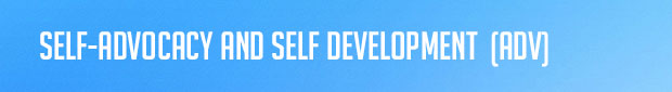 Resources - Self-Advocacy and Self Development