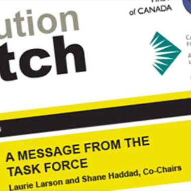 Latest Edition Institution Watch Newsletter