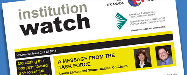 Latest Edition Institution Watch Newsletter